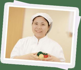 栄養士の写真
